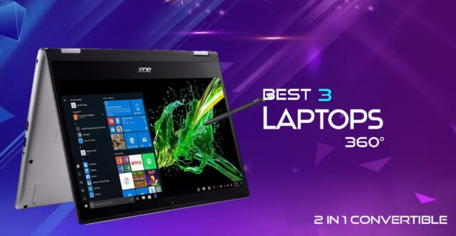 Best 3 Laptops 360 Degree | 2 in 1 Convertible India 2021